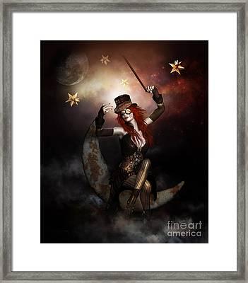 Maestro Steampunk Framed Print by Shanina Conway