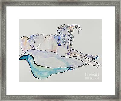 Maevis Framed Print by Pat Saunders-White