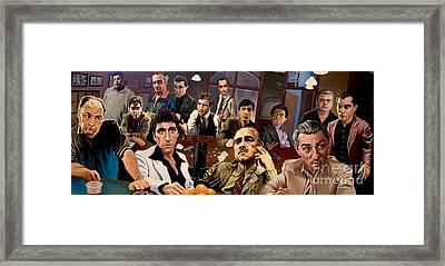 Mafia Framed Print by Mafia