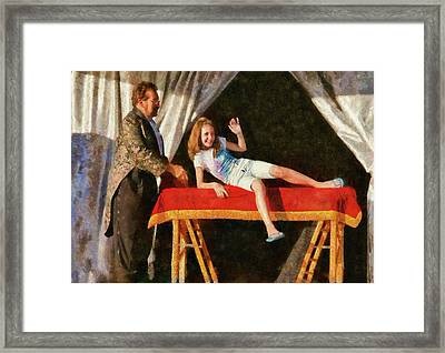 Magic - Can I Have A Volunteer  Framed Print by Mike Savad