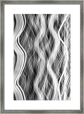 Magic Carpet Ride Bw Framed Print by Az Jackson