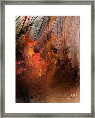Magic Framed Print by Karin Kuhlmann
