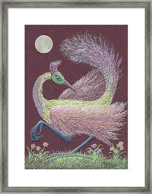 Magic Moon Dance Framed Print by Charles Cater