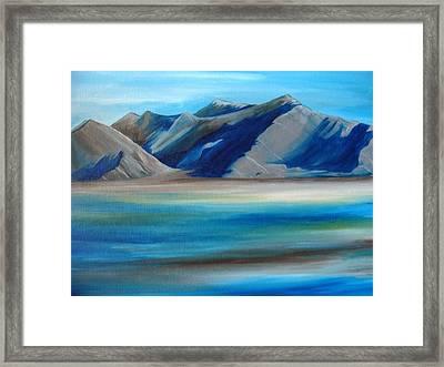 Magic Mountains Framed Print by Ramneek Narang
