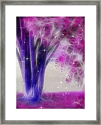 Magic Myrtle Framed Print by Wendy J St Christopher