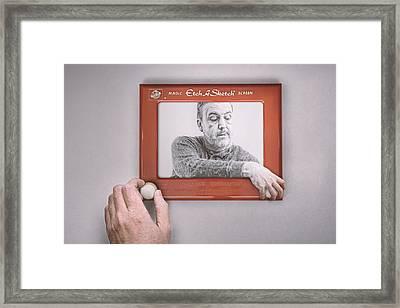 Magic Screen Duet Framed Print by Scott Norris
