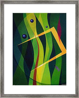 Magical Composition Framed Print by Alberto D-Assumpcao