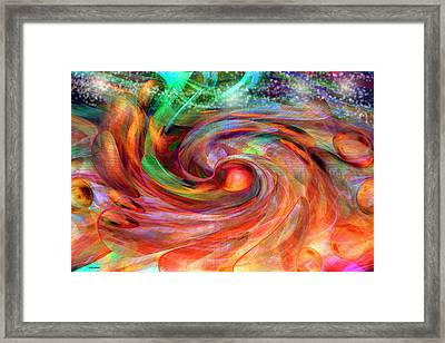 Magical Energy Framed Print by Linda Sannuti