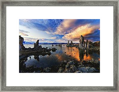 Magical Mono Lake Framed Print by Andrew J. Lee