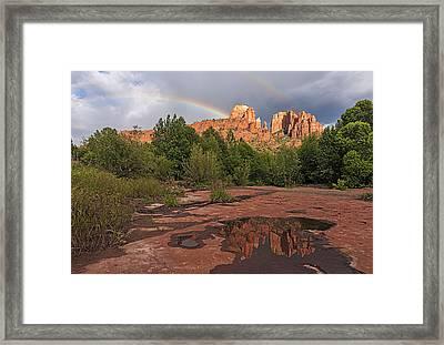 Magical Sedona Framed Print by Loree Johnson