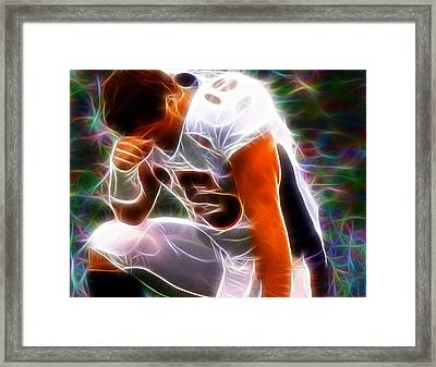 Magical Tebowing Framed Print by Paul Van Scott
