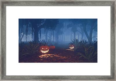 Magical Trail Framed Print by Marina Likholat