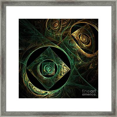 Magical Vibrations Framed Print by Oni H