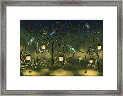 Magical Village Framed Print by Veronica Minozzi