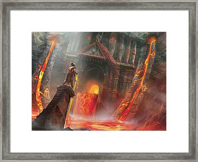 Magmatic Insight Framed Print by Ryan Barger