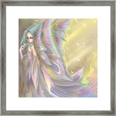 Maiden Of Earth Framed Print by KimiCookie Williams