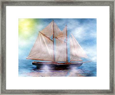 Maiden Of The Mist Framed Print by Madeline  Allen - SmudgeArt