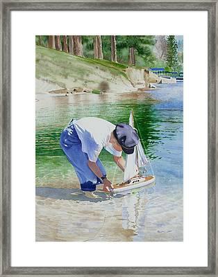 Maiden Voyage Framed Print by Karen Faire