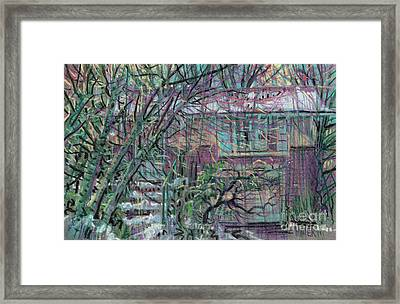 Maier House Framed Print by Donald Maier