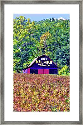 Mail Pouch Barn Image Framed Print by Paul Price