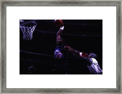 Mailman Midnight Delivery Framed Print by Brian Reaves