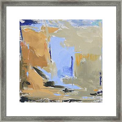 Maine - Lowtide I Framed Print by Jacquie Gouveia