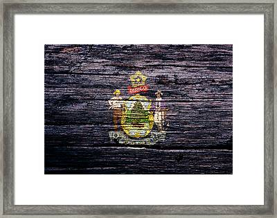 Maine 1a Framed Print by Brian Reaves