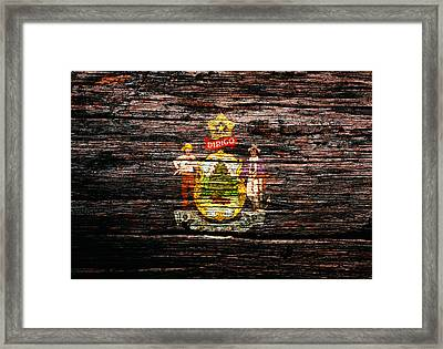 Maine 1c Framed Print by Brian Reaves