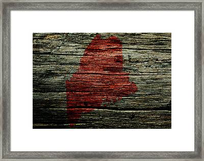 Maine 3w Framed Print by Brian Reaves