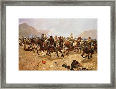 Maiwand Framed Print by Richard Caton II Woodville