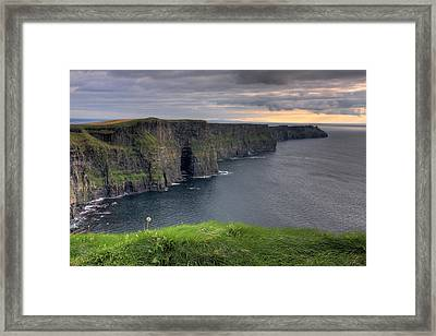 Majestic Cliffs Of Moher Co. Clare Ireland Framed Print by Pierre Leclerc Photography