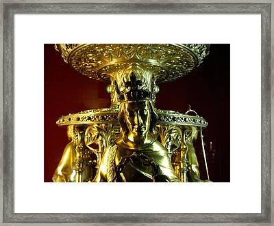 Majestic Figurine Framed Print by Edan Chapman