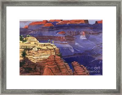 Majesty Framed Print by Elizabeth Carr