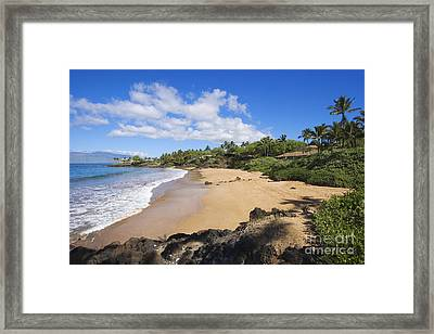 Makena, Changs Beach Framed Print by Ron Dahlquist - Printscapes