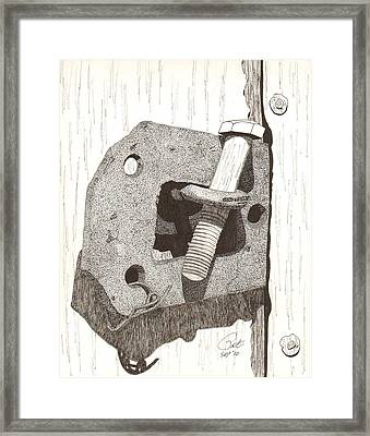 Makeshift Framed Print by Pat Price