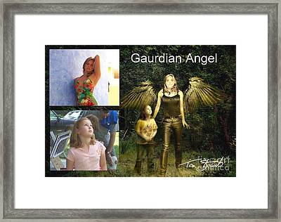 making Guardian Angel Framed Print by Tom Straub