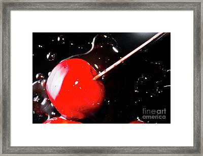 Making Homemade Sticky Toffee Apples Framed Print by Jorgo Photography - Wall Art Gallery