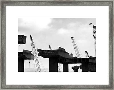 Making Way Framed Print by Jamie Lynn
