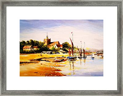Maldon Essex Framed Print by Andrew Read