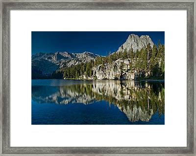 Mammoth Lakes Reflections Framed Print by Greg Nyquist