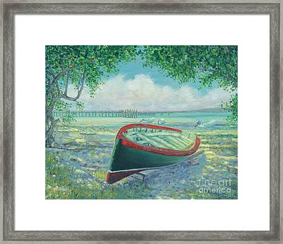 Man-o-war Cay Framed Print by Danielle Perry