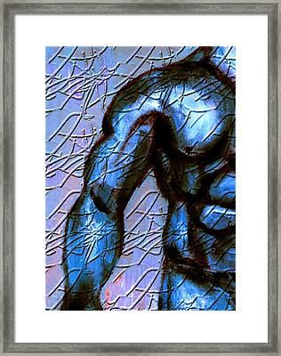 Man Of Steel Framed Print by Joseph Ferguson