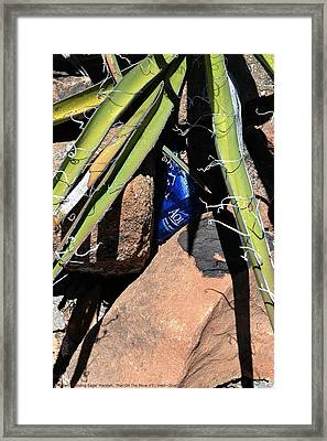 ''man On The Move No.5'', Wed--3jun2015 Framed Print by Robert 'Standing Eagle'