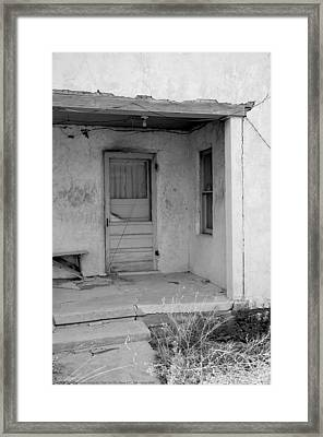 ''man On The Move No.7'', B-w, Sat--16apr2016 Framed Print by Robert 'Standing Eagle'