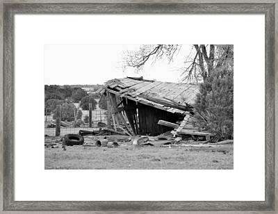 ''man On The Move No.8'', B-w, Sat--16apr2016 Framed Print by Robert 'Standing Eagle'