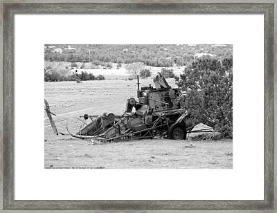 ''man On The Move No.9'', B-w, Sat--16apr2016 Framed Print by Robert 'Standing Eagle'