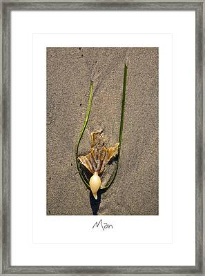 Man Framed Print by Peter Tellone