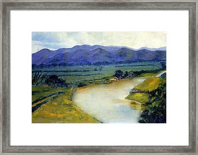 Manati River Framed Print by Gladiola Sotomayor