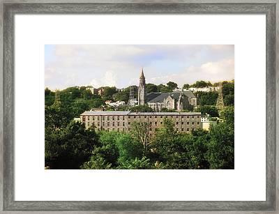 Manayunk Framed Print by Bill Cannon