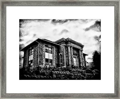 Manayunk Branch Of The Free Library Of Philadelphia Framed Print by Bill Cannon